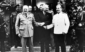 """""""永久剔除""""军国主义,波茨坦公告69年后遭日背弃"""
