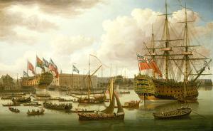 风帆时代的英国海军吃得差?