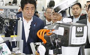 安倍打算借2020年东京奥运会契机举办机器人比赛