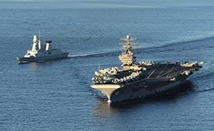 美军高官:希望通过更多军演加强中美关系