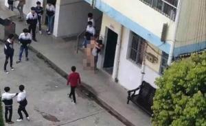 广西灵山通报一中学男职员校内裸体侵犯女生:疑似突发精神病