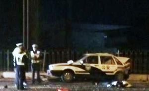 济南男子醉驾冲入车祸现场撞上执勤警车,致一交警遇难