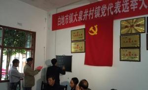"""""""破坏选举案""""后,湖南衡阳首次乡镇党委换届工作全面完成"""