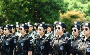 """杭州""""城管""""女子巡逻队亮相西湖,劝阻成功率100%"""