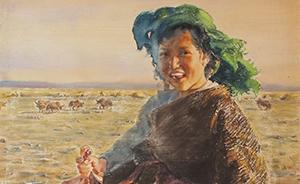 现代上海私人画室如何教美术?看看陈逸飞的老师怎么干的