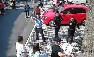 浙江绍兴四人闹事用花盆砸民警,民警鸣枪后其中一人试图夺枪
