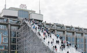踏上180级楼梯俯瞰鹿特丹