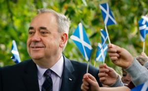 """英国脱欧或引发国土分裂,苏格兰领导人表态称""""脱欧就脱英"""""""