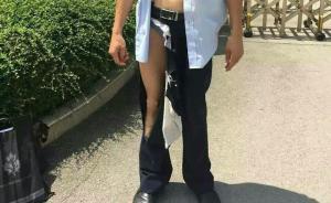 法院回应广西律师立案后半裸:强制查手机,拉扯致其外裤脱线