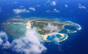 外媒记者称飞越美济礁受威胁,海军少将关友飞:那是你的角度