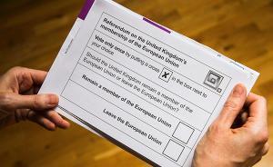 """英国""""脱欧""""公投网上申请截止,86%合格选民完成登记"""
