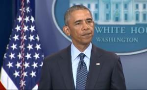 视频丨奥巴马发表讲话谴责奥兰多枪击案:这是恐怖仇恨行为