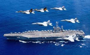 早安,全世界都在看↑秀肌肉?美军双航母现身西太平洋