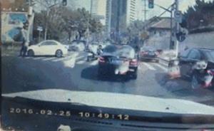 公安部B级逃犯在上海闹市开奔驰撞交警被抓,曾诈骗上亿元