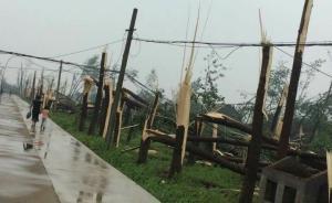 视频|江苏阜宁龙卷风冰雹灾害,已造成78人死亡500人伤