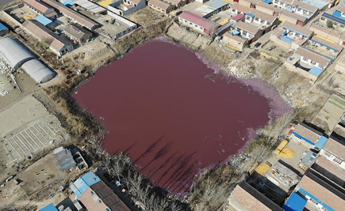 河北霸州被曝多处异常坑塘,环境局:已成立工作组,正在查