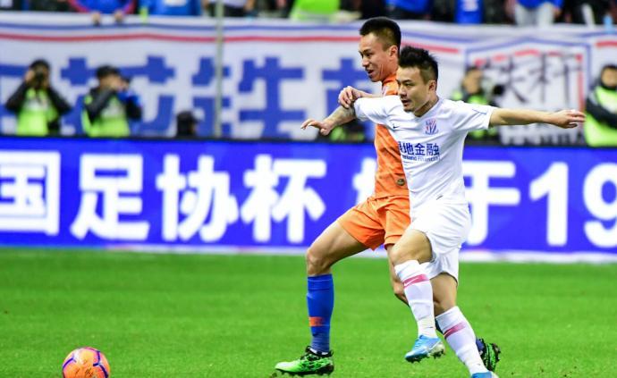 上海申花足協杯奪冠!總比分3-1山東魯能,三年內兩度加冕