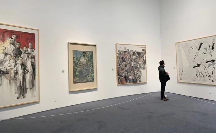 山东青年美术作品集聚海上:一次沪鲁艺术家的交流