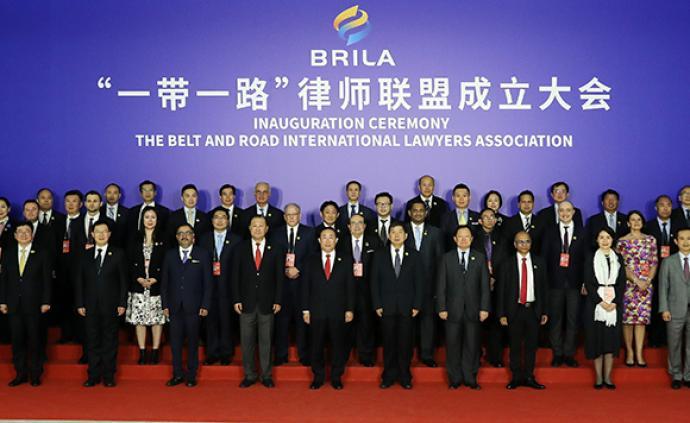 """""""一帶一路""""律師聯盟成立,全國律協會長王俊峰當選首任主席"""