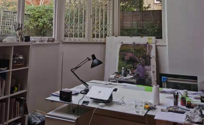 随笔 | 伦敦艺术片段:绘画是一种感情的寄托与延伸