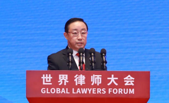 """傅政華:進一步推動市場開放,歡迎外國律師事務所""""走進來"""""""