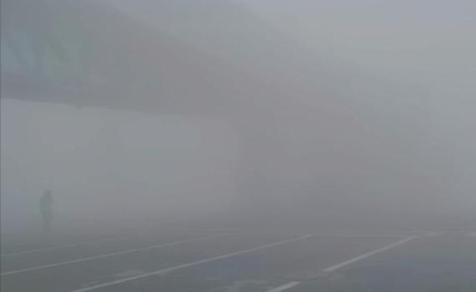 冻雾致2千余人滞留,乌鲁木齐机场启动航班延误黄色应急响应