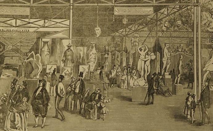从《伦敦新闻画报》到柯布西耶手稿,掠过近170年的世博史