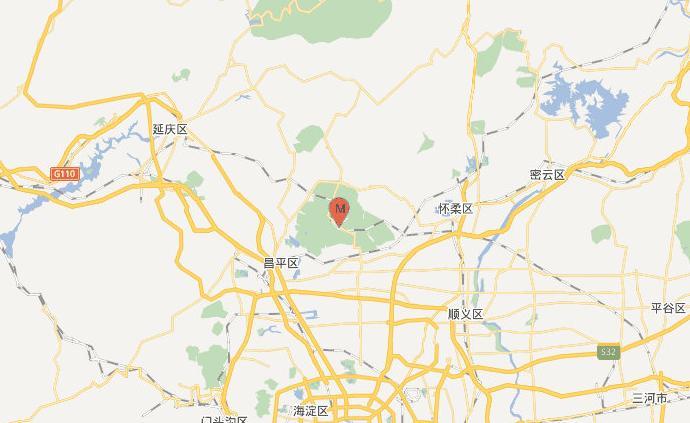 北京昌平区发生2.0级地震,震源深度18千米