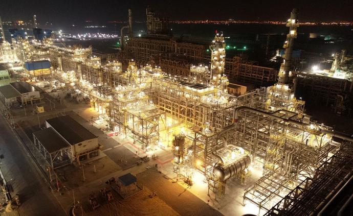 中东地区最大炼厂主装置全面建成,由中国石化承建
