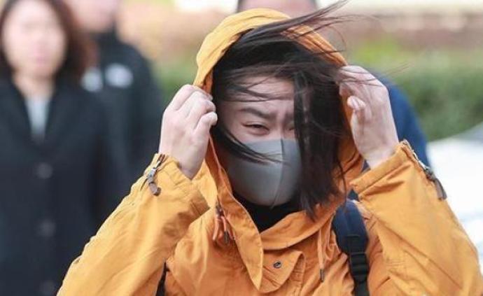 """华北东北雨雪接力,中东部气温""""先扬后抑""""并伴有大风"""