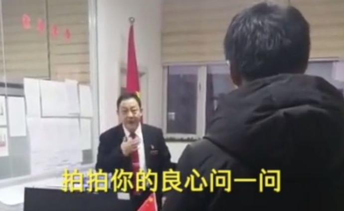 河北蔚縣信訪局長斥欠薪企業走紅,稱自己也做過工人感同身受
