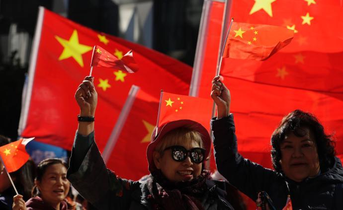 """张晓明人民日报撰文:坚持和完善""""一国两制""""制度体系"""