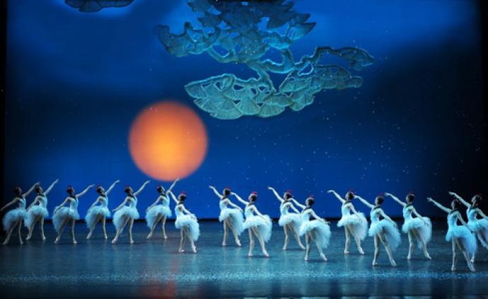 中央芭蕾舞团来上?!豆辍?,展开中国民俗风情长卷