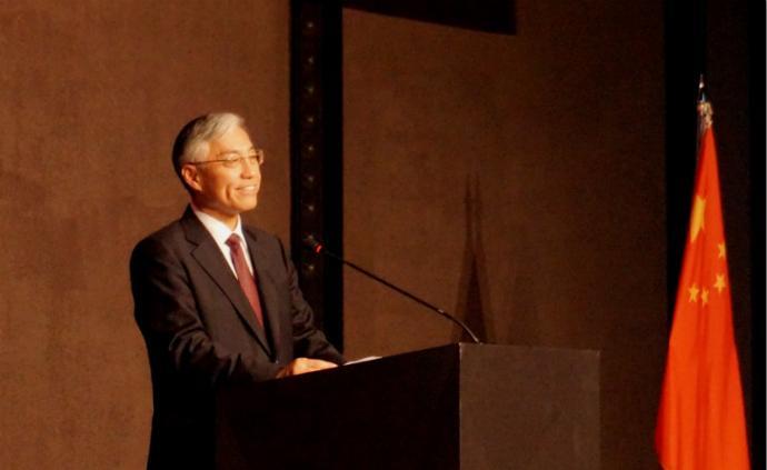 邱國洪即將離任中國駐韓國大使,曾被授予圍棋業余五段證書