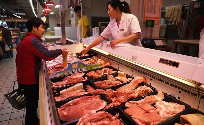商務部:12月中旬至今已投放中央儲備凍豬肉10萬多噸