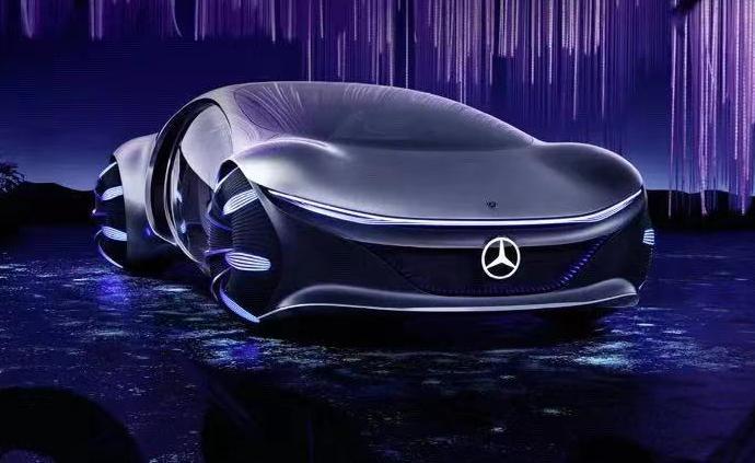 从电影获取奇思妙想,奔驰让未来汽车变成了阿凡达的样子