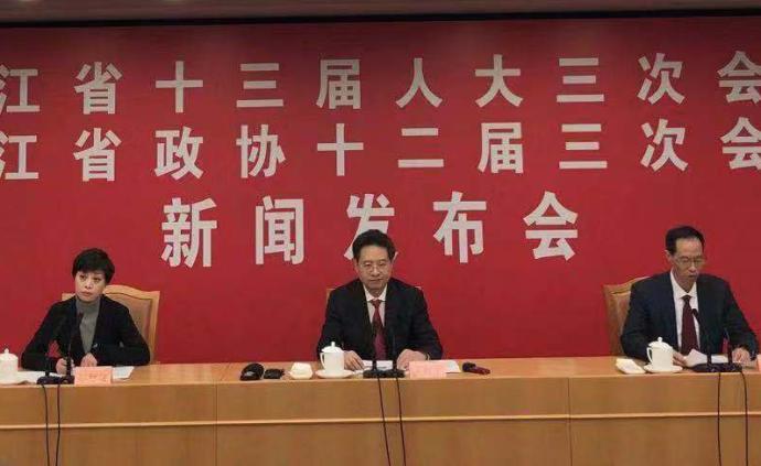 浙江省十三屆人大三次會議12日開幕,首次邀請華僑列席
