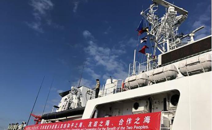 中国海警舰船首访菲律宾,双方将开展联合演习等多项活动