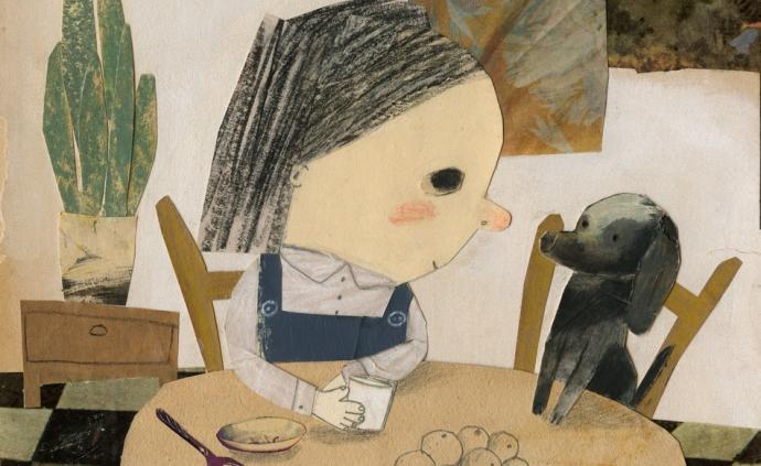 读图|陈伯吹儿童文学奖原创插画展,一个妙趣横生的世界