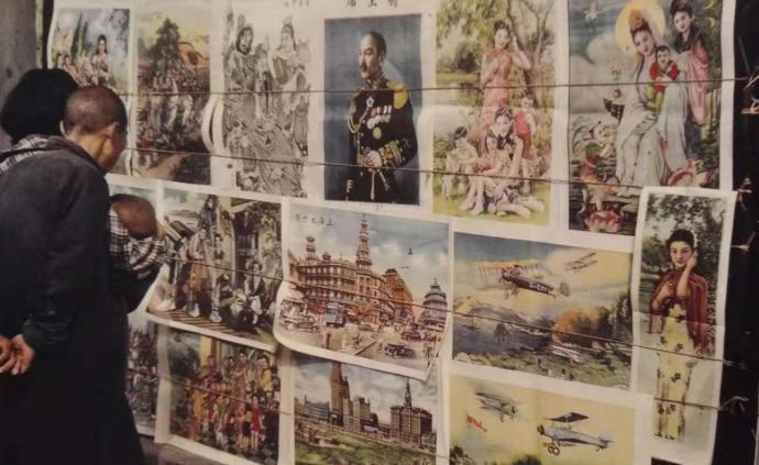 年畫里的上海社會變遷:從傳統木版年畫、月份牌到新年畫