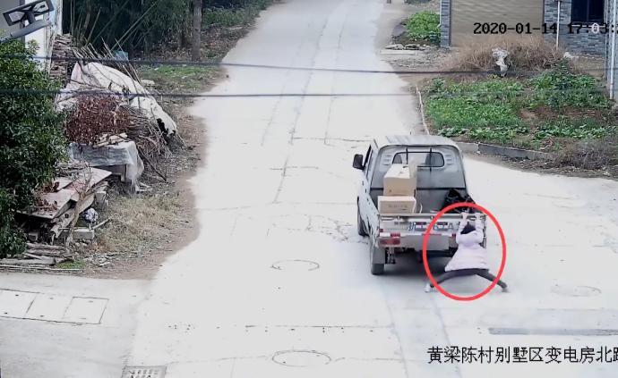 10歲女兒被車輛拖行數百米,媽媽報警后發現自己是肇事司機