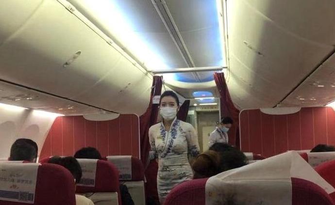 海航要求飞武汉航线机组统一领取佩戴口罩,不可使用自购口罩