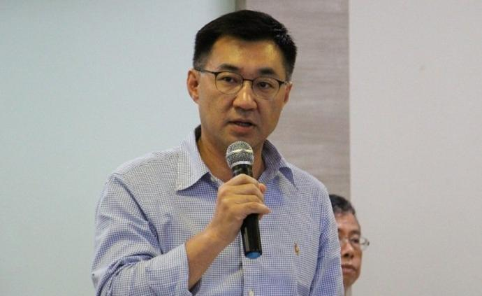 """中国国民党""""青壮派""""江启臣宣布参选党主席:扛起该扛的责任"""