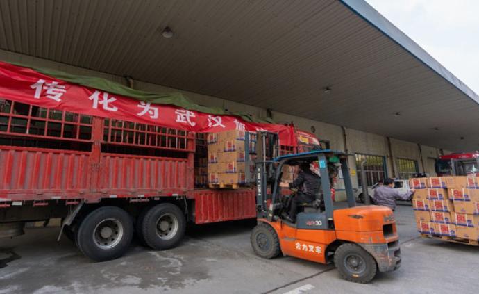 传化捐3000万元用于疫情防控,首批84除菌液抵达武汉