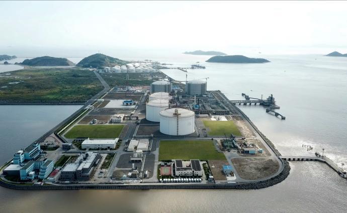 洋山LNG接收站啟動封閉運行,保障上海天然氣穩定供應