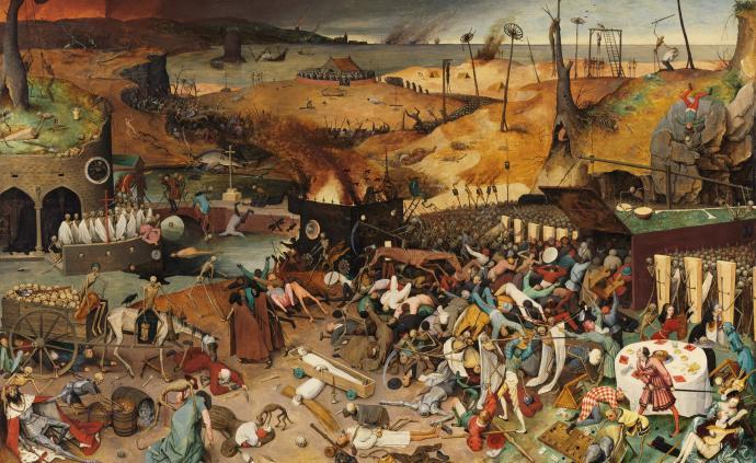 西方藝術里的疫情:丟勒、蒙克的寫實,凡·戴克的守護與信念
