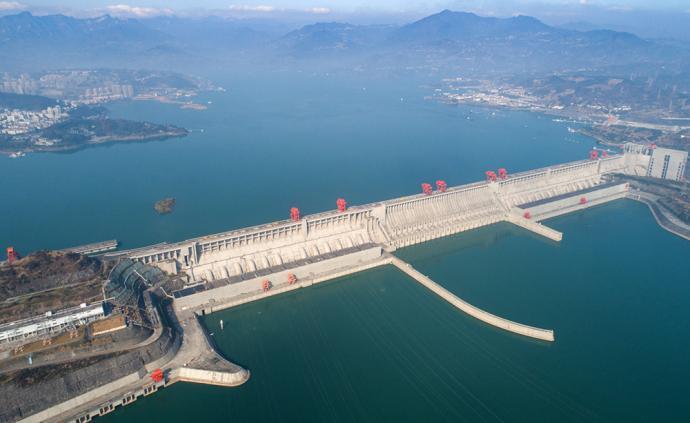 長江委調度三峽水庫持續加大向中下游補水,保障防疫期間用水