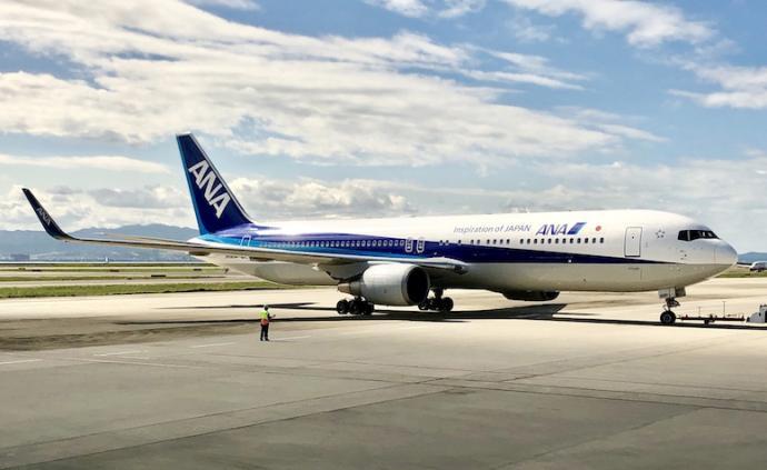 全日空航空宣布將暫時減少或取消部分往返中國的航線運營