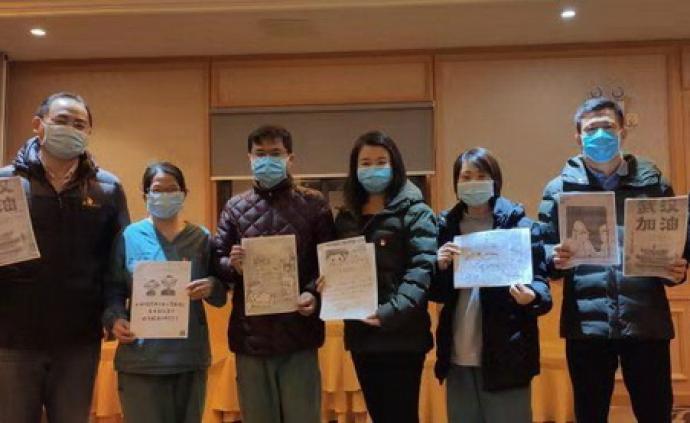 小林漫畫走到抗疫前線,以暖心漫畫支持醫護人員
