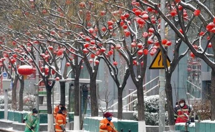 入冬以來北京已6次降雪,華北降水量1961年以來同期最多